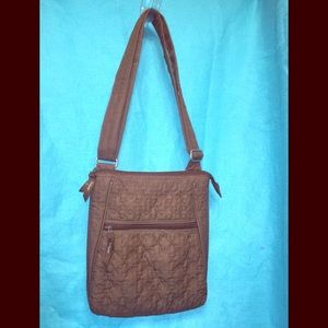 Thirty-one's Brown Quilted Man Made Crossbody Bag
